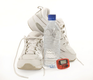 Fitness Shoes with Pedometer and Water