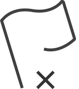 Flag 2 Minimal Icon