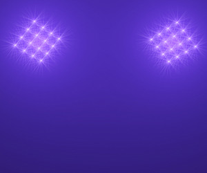 Floodlights In The Night Sky For Illumination Or Event