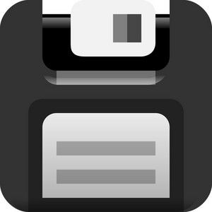 Floppy Disk Tiny App Icon