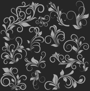 Flora Designs Vectors