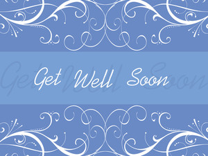 Floral Background For Get Well Soon