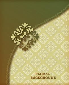 Floral Background Vector Illustration
