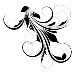 Floral Elements Decorative Design