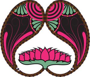 Floral Paisley Design