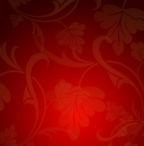 Floral Pattern Christmas Background