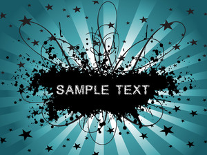 Floral Sample Text Background Series Design12