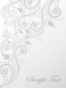 Floral Sample Text Background Series Design27