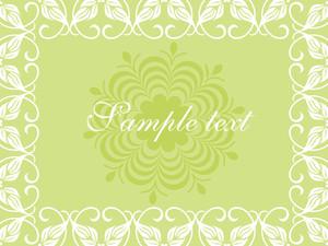 Floral Sample Text Background Series Design4
