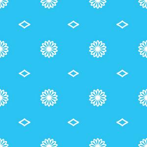 Floral Seamless Tile