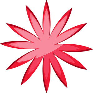 Floral Star Icon