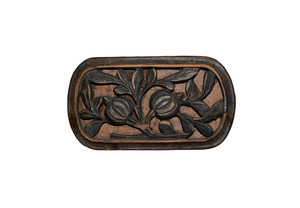 Floral-wood-carving