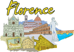 Florence Vector Doodle