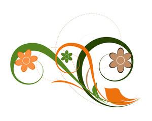Flourish Decorative Graphic Backdrop
