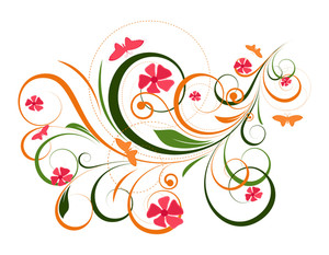 Flourish Design Backdrop