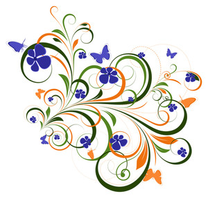 Flourish Design Background