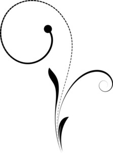 Flourish Design Vector