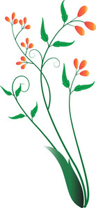 Flourish Element Design