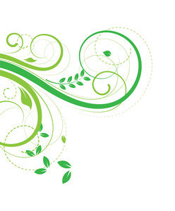 Flourish Elements Background