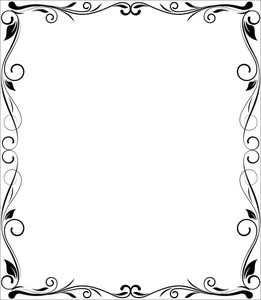 Flourish Frame Design