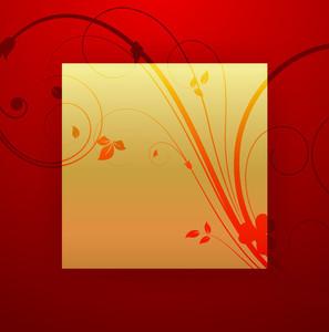 Flourish Golden Banner