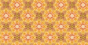 Flourish Pattern Kaleidoscope Background