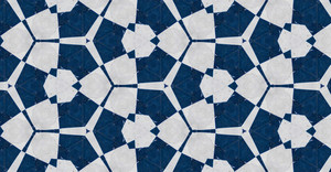Flourish Pattern Tile