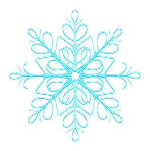 Flourish Xmas Snowflake