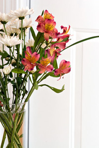 Flower Arrangement with Lillies