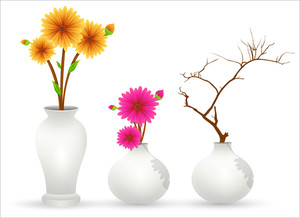 Flower Pot Vectors