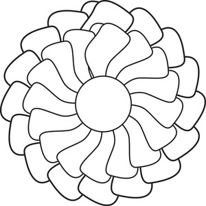Flower Shape Clipart