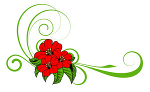 Flower Swirl Design