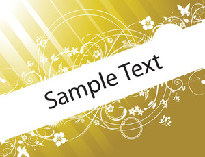 Flower Texture For Sample Text