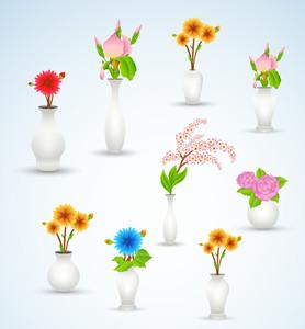 Flower Vase Vectors