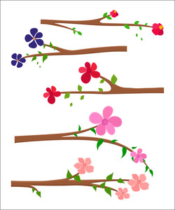 Flowers Branches Designs