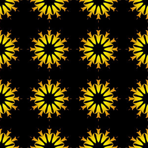 Flowers Pattern Decorative Bg