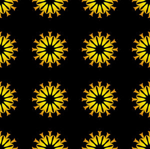 Flowers Pattern Decorative Design