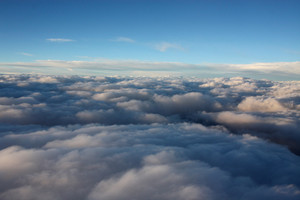 Fluffy Aerial Clouds