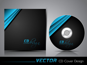 Folded Glossy Ribbon Cd Cover