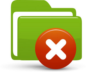 Folder Green Delete Lite Computer Icon