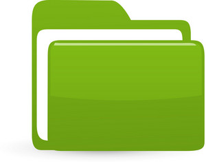 Folder Green Lite Computer Icon