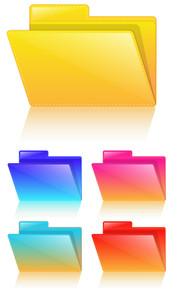 Folders Vectors