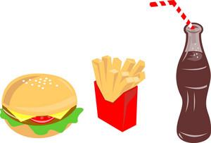 Food Burger Fries Drink