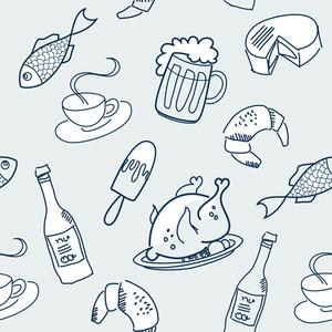 Food Seamless-