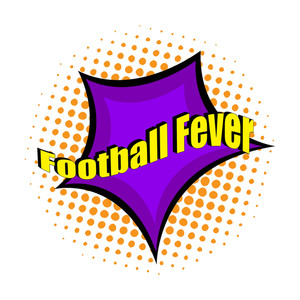 Football Fever Retro Banner