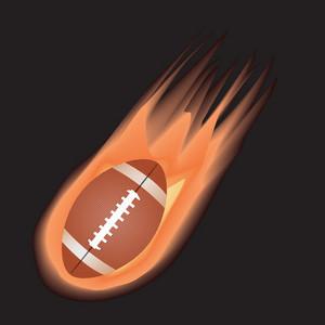 Football-fire