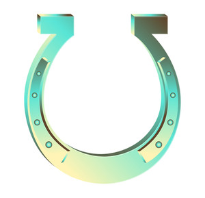 Fortune Horseshoe Magnet