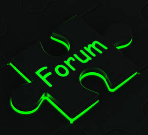 Forum Puzzle Shows Community Chat
