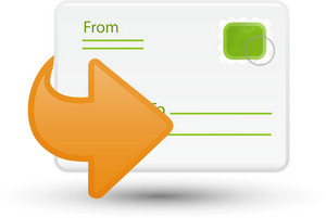 Forward Message Lite Communication Icon