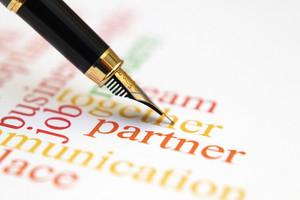 Fountain Pen On Partner